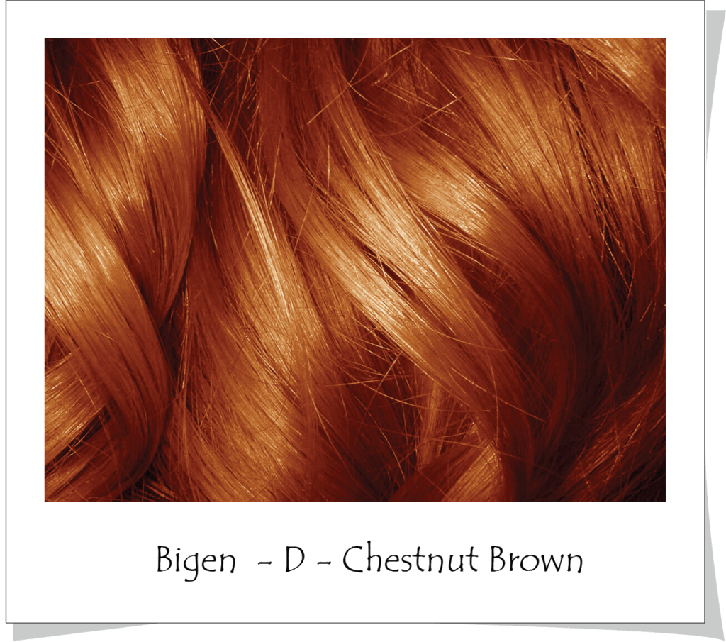 Bigen Permanent Powder Hair Color 48 Dark Chestnut Rakuten