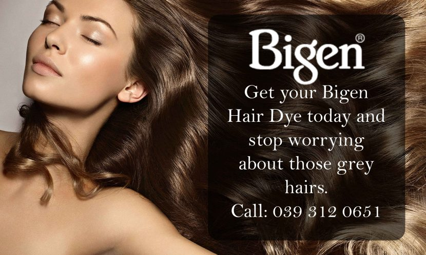 Get Your Bigen Hair Dye Today And Stop Worrying About Those